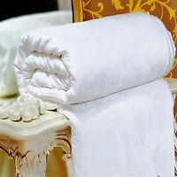 100% Silk Filled Comforter Quilt Duvet Blanket Coverlet Twin Full Queen King New