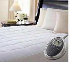 Sunbeam MSU6S-MASTER WP Queen Size Waterproof Heated Mattress Pad - White
