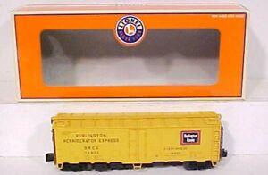 Lionel 6-17339 Burlington Steel Sided Reefer # 74825 NIB