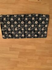 Nina home By Nina Campbell decorative blue floral pillow sham cover