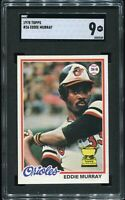 1978 Topps Baseball #36 Eddie Murray All-Star Rookie Card SGC 9 [Centering=WOW]