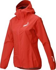 Inov8 Stormshell Waterproof Womens Running Jacket - Red