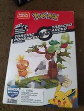 Mega Construx Pokemon Torchic Vs Treecko Wonder Builders New