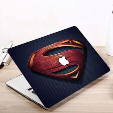 Super Hero Hard Shell Case Cover & Keyboard Skin Fit For Apple Mac Book Macbook
