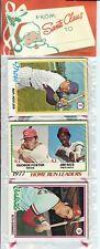 1978 Topps Baseball Holiday Christmas Rack Pack Murray Molitor Morris RC Poss?