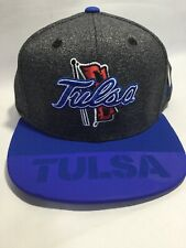NCAA Tulsa Golden Hurricane Men's  Logo Structured Adjustable Hat - Flat Brim
