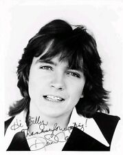 David Cassidy American Singer Actor Signed Autograph Preprint Photo Picture