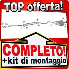 Scarico Completo OPEL ASTRA H 1.6 1.8 GTC +Tubo con CHROM Marmitta U18