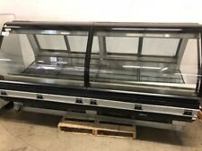 "96"" Hussman Curved Glass Refrigerated Deli Displaycase"
