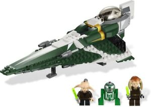 LEGO 9498 Star Wars Saesee Tiin's Jedi Starfighter - Complete Pre-Owned