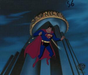 Superman Animated Series-Original Production Cel-Superman