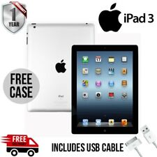 "Apple iPad 3rd Gen - 32GB, Wi-Fi - 9.7"" Display - 12M Warranty - Good Condition"