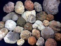 8-10Lbs Break Your Own Geodes Unopened Natural Crystals Kentucky Variety Lot