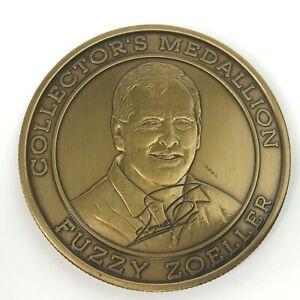 Fuzzy Zoeller PGA Golf Tour Collectors Medallion Coin Partners Club Signature