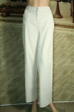 Ann Taylor pants khaki wide leg trousers career workwear size 6