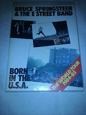 Bruce Springsteen  Born In The U.S.A. Tour Book The World Tour 1984-1985