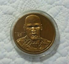 MICHAEL JORDAN COLLECTOR COIN BY UPPER DECK LIMITED EDITION NUMBERED BASKETBALL