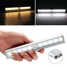 10 LED Bright Auto PIR IR Infrared Motion Detector Light Wireless Sensor Lamp WL