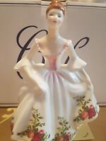 royal doulton country roses figurine signed