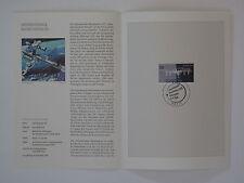 (04j40) Bund Erinnerungsblatt 2004 mit ESST Mi.Nr.  2433 Raumstation ISS
