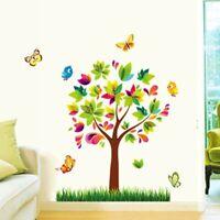 Colorful Creative Trees Wall Sticker Children Home Nursery Decoration Cartoon
