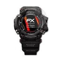 atFoliX 3x Écran protecteur pour Casio GPR-B1000-1 HD-Antireflet