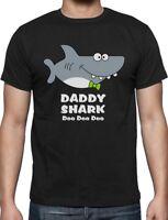 Daddy Shark Doo doo doo Funny Father Day Gift For Dad T-Shirt Ocean Beach Summer