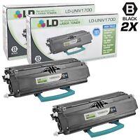 LD Reman Lexmark 12A8400 2pk HY Black E230 E232 E234 E240 E332 Series