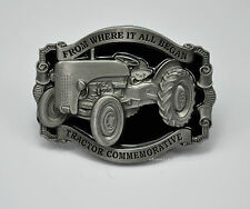 *305 Gürtelschnalle Traktor Oldtimer Schlepper Vintage Trecker Belt Buckle