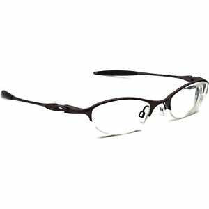 Oakley Eyeglasses 11-743 Chain 4.0 Ti Dark Bronze Half Rim Metal Frame 48-20 129
