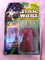 Star Wars Power Of The Jedi 2000 Boss Nass Case Fresh MOC Collection 2 POTJ