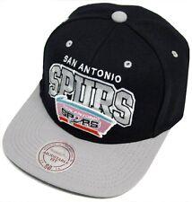 Mitchell & Ness and San Antonio Spurs Doubleup EU131 Snapback Cap Kappe Basecap