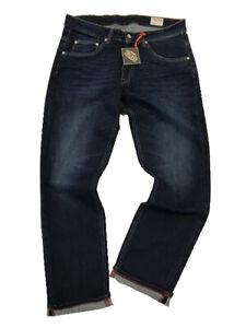 Trojan Clothing, Denim Jeans, Dark Wash,Zip,Stretch,1016,Skin,Ska,Soul,Mod