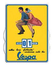 Calendrier  perpétuel VESPA Couple (version francaise)