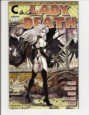 Lady Death Unholy Ruin #1 Walking Dead Homage Edition Signed Coffin Comics NM+