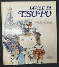 """Book/Volume """"LE FAVOLE DI ESOPO""""! Arnoldo Mondadori Editore! RARO! Best Price!"""