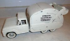 1950s-60s Structo Truck Sanitation Dept. Hydraulic Operated ~Working Condition~