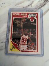 1989-90 Michael Jordan Fleer Card #21