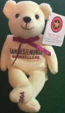 "The Cheesecake Factory 2004 TEDDY BEAR WCRC BARNES & NOBLE 8"" Bean Bag Plush!"