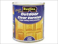 Rustins - Exterior Varnish Satin 250ml