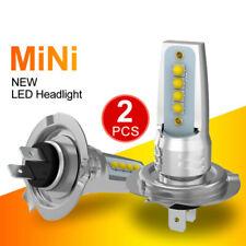 2x H7 COB Car LED Headlight Lamp Bulbs Hi-Lo Beam 110W 20800LM Cool White 6000K
