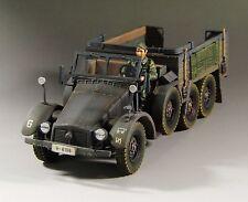 1/30 WW2 German Krupp Protze truck Kfz 70 Grey version G007 without top
