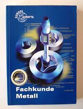 Fachkunde Metall von Werner Günter, Josef Dillinger, Eckhard Ignatowi