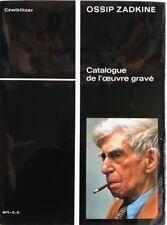 Kunst, Ossip Zadkine, Ossip Zadkine Sculpteur-Graveur de 1919 à 1967, Kunst