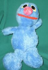 PLUSH Blue GROVER DOLL VINTAGE PLAYSKOOL SESAME STREET