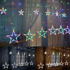 138 LED Star Lights Battery Operated Fairy String Wire Indoor Party Bedroom Lamp
