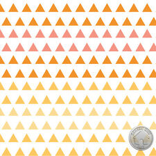122000072 - Spectrum Triangle Gradient Chamomile Fabric by the Yard Orange Ombre