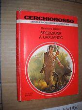 LIBRO - SPEDIZIONE A UAXUANOC  -  CERCHIO ROSSO FANTASCIENZA N. 1 - MONDADOR1978