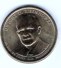 2015-D $1 Brilliant Uncirculated 34TH President Eisenhower Dollar Coin!