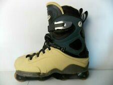 "FILA ""Krusty"" Inline Vintage Skates Men's 10 US Hard/Soft Boot Rare HTF Italy"